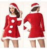 Christmas new sexy happy sleigh Belle three-piece suit Santa Claus hat stage costume