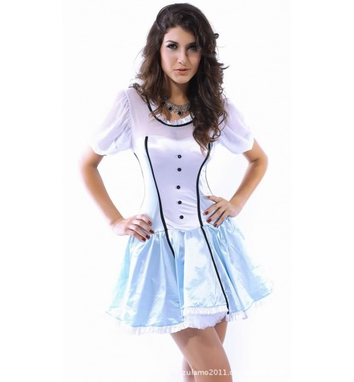 Cosplay Halloween Game Play Victoria Alice tutu dress