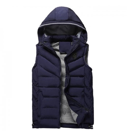 Autumn Winter new men's vest men's casual warm vest