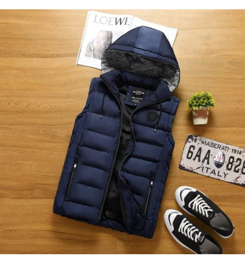 Men's new cotton warm casual vest factory direct supplies