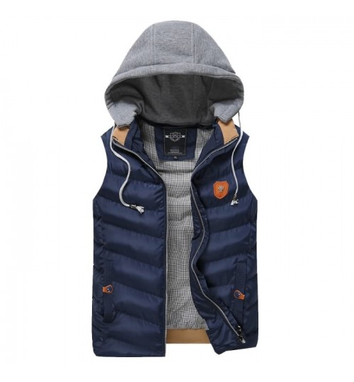 New boy's warm cotton vest men's winter thickened plus-size vest