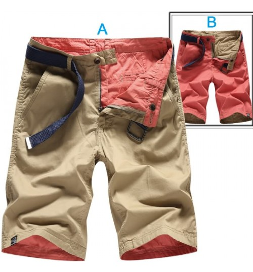 New men's double-sided wear casual pants boys fashion cotton washable pants
