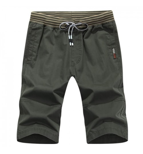 Summer fresh men's washable purified cotton pants military style casual multi-pocket shorts