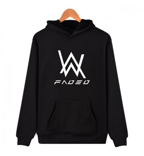 Alan Walker the same style clothes faded hoodie DJ jacket men and women couple sweater