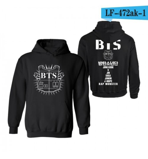 BTS clothes concert official hooded sweater BTS cashmere hoodies