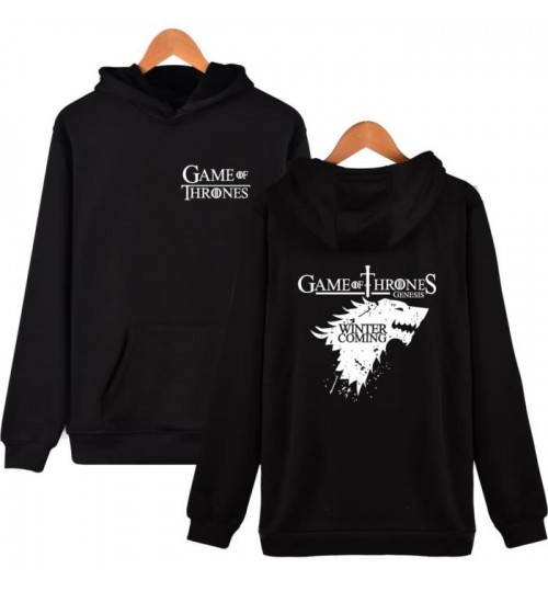 Game of Thrones House Stark of Winterfell sweater Autumn Winter hooded coat