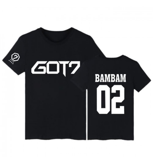 GOT7 same style clothing new short-sleeved T-shirt purified cotton