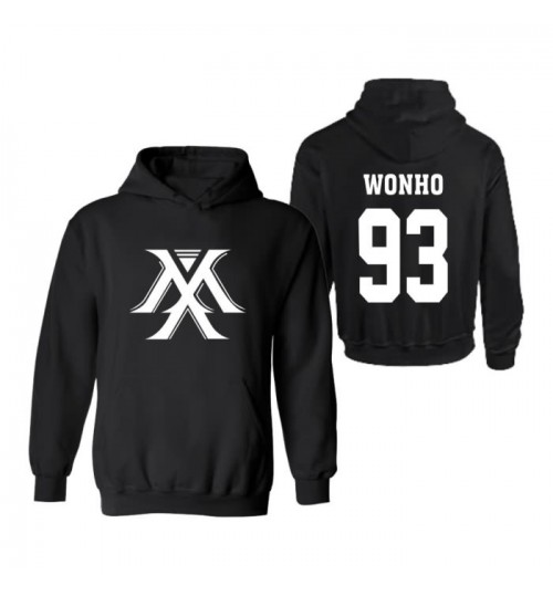 MONSTA X I. M same style hooded sweater Korean fleece jacket