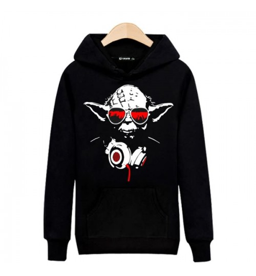 Summer hoodie Star Wars Master Yoda Jedi hooded sweater