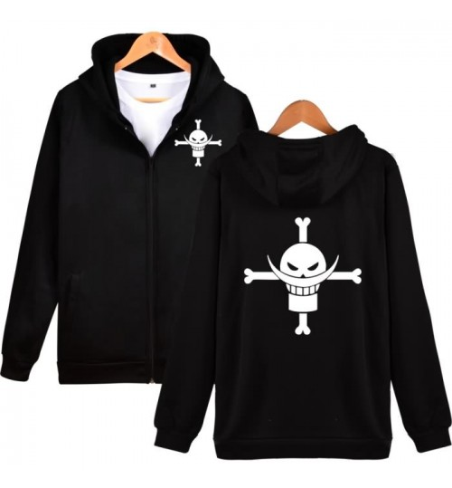 One Piece Sweater new anime sports leisure teenager zipper hooded cashmere coat