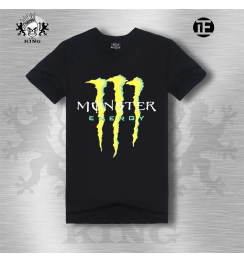 Heavy metal new men's creative sports short-sleeved t-shirt simple casual style 3D prints t-shirt