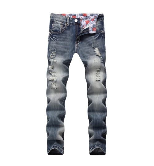 Myjeans198 straight Jeans nostalgia light-colored men's trousers