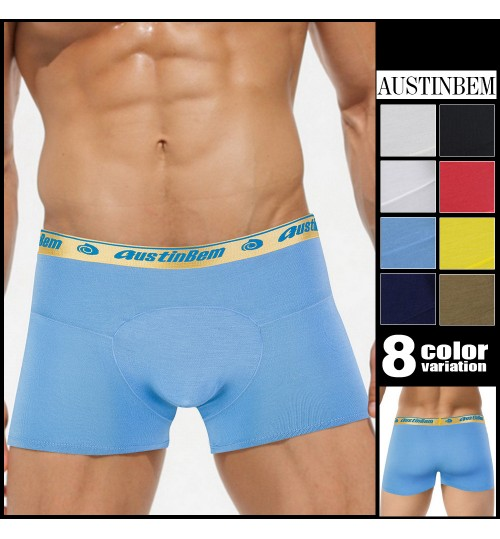 austinBem fashion round convex men's underwear briefs wholesale comfortable home shorts