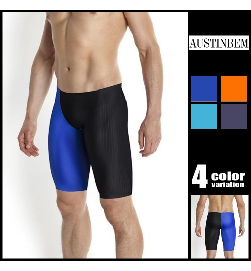 austinBem men's swimming trunks fashion athletes special breathable quick-drying fifth swimsuit