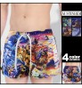austinBem new men's beach pants love magic angelic demon pattern casual fashion home sports shorts