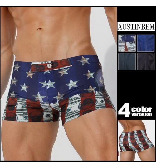 austinBem men's swim trunks swim trunks fashion swimwear