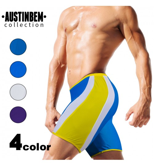 austinBem men's swimming trunks fashion personalized beach fifth swimwear manufacturers wholesale