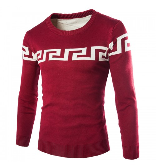 Winter thickening warm men's turtleneck knit sweater 3 colors