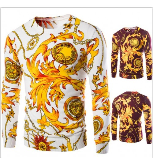 New Men's Classic Chinese Style Dragon prints Sweater