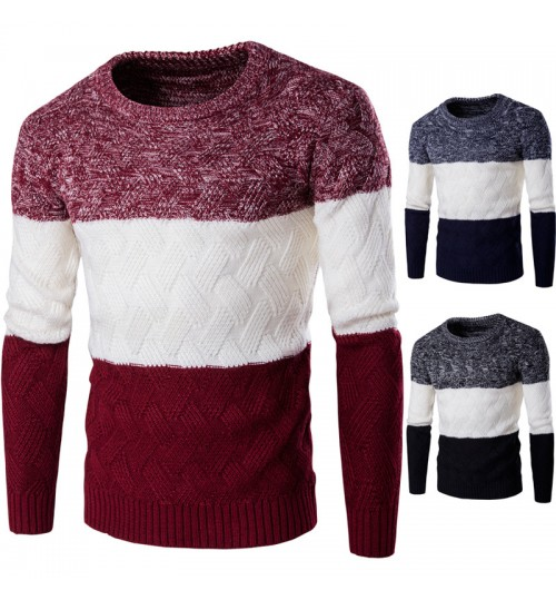 Autumn Winter men and women multicolor warm thickening sweater