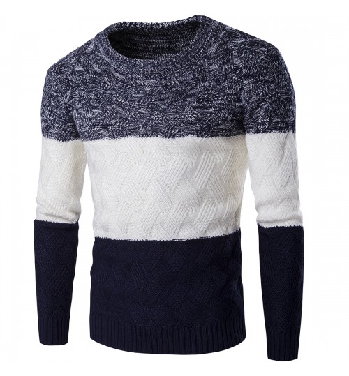 Autumn Winter men's sweater multicolor thickening warm