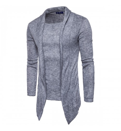 European size fashionable casual solid color sweater