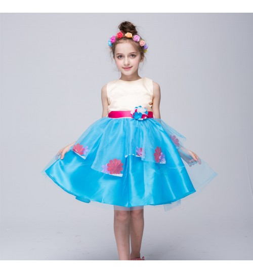 Spring and summer girls skirt princess dress children pettiskirt costume