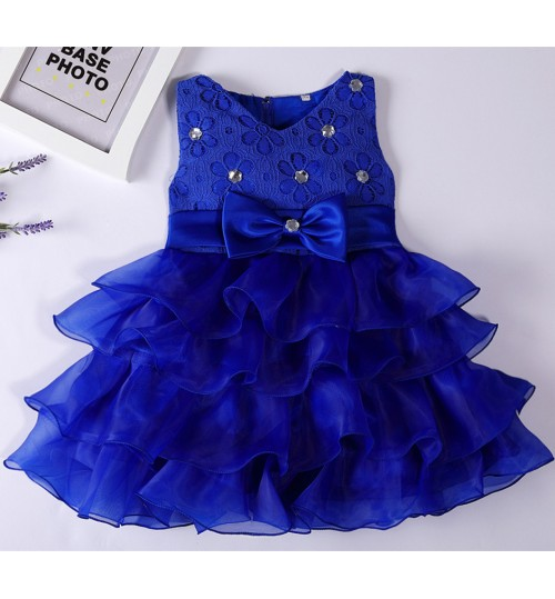 children's clothing red white navy blue champagne rose flowers girls dress wedding princess skirt