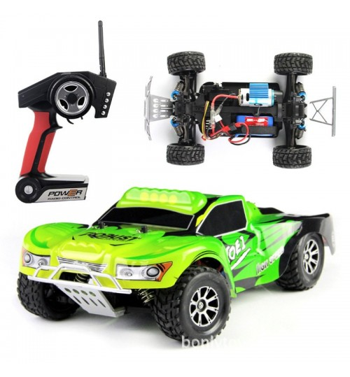 High-speed off-road remote control car 1:18 stunt four-wheel drive electric racing car model toy