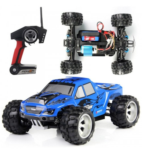 High-speed off-road remote control car Electric racing model toy 1:18 stunt four-wheel drive