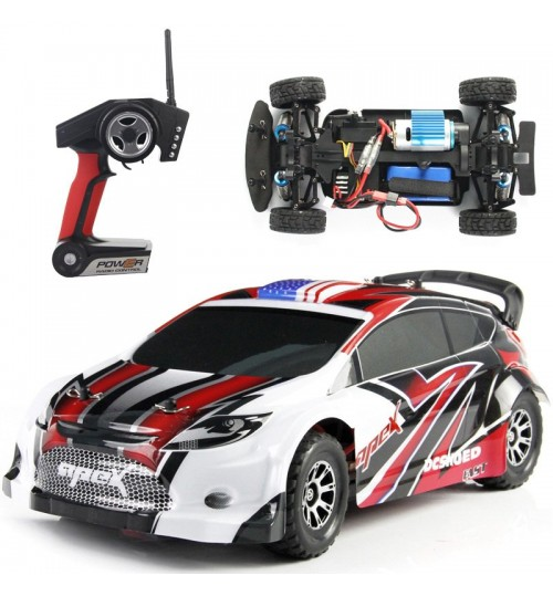 High-speed off-road remote control car Electric racing car model toy 1:18 four-wheel drive