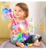 Children's Musical Toys Electric Flash Cartoon Fish Guitar Girl's Early Learning Musical Instruments