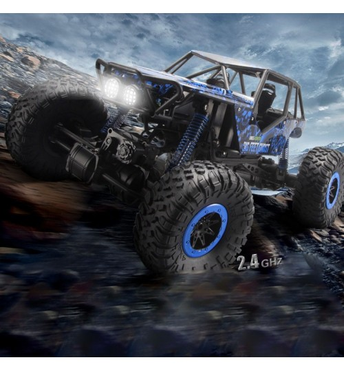 Four-wheel drive car remote control off-road vehicle big climbing charging toy