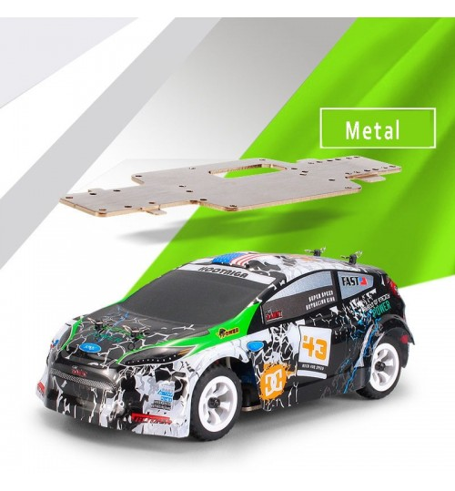 High speed 1:28 electric four-wheel drive off-road vehicle 2.4G alloy chassis remote control car toy
