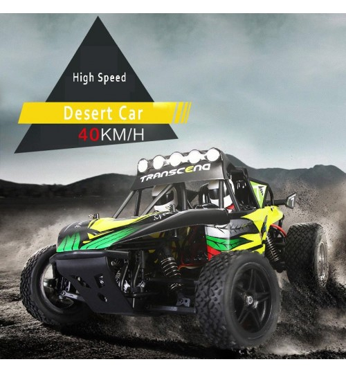 Large remote control high-speed car 2.4G electric two-wheel drive desert 1:12 off-road vehicle toy