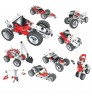 environmental electric toy bricks car DIY 10 in 1 blocks detachable and assemble vehicle