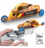 Children's educational games assembly toy car hand power generation tricycle plaything