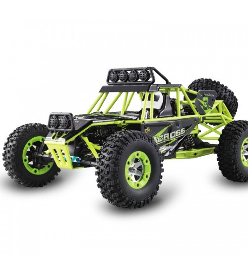 Remote control 1:12 full scale off-road high-speed car Electric four-wheel drive climbing vehicle model
