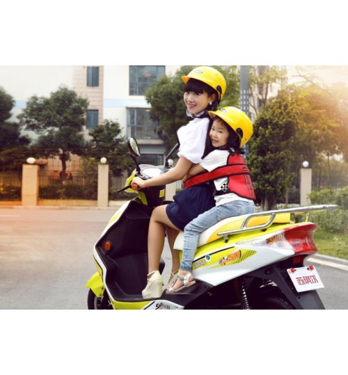Electric motorcycle bicycle child safety straps Kid infant protection belt