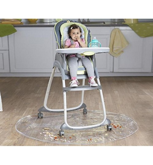 Infant Dining Chair Pads Anti-Dirty Mats Transparent Easy To Clean Children's Play Mats Outdoor field cushion