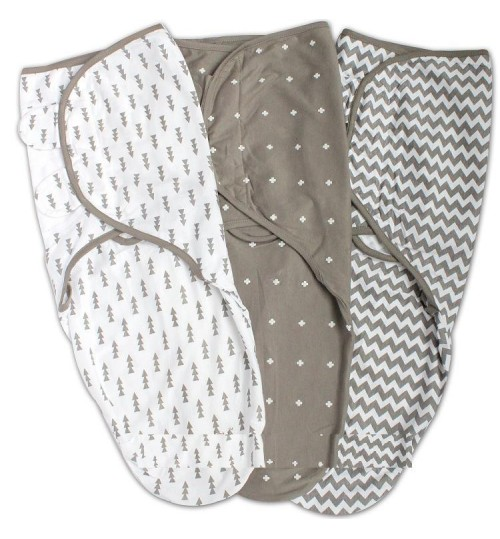 Baby sleeping bag anti-wake wrap towel newborn cotton swaddle strap