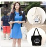 2018 new TV series Cheese in the trap same canvas bag shoulder Messenger shopping bag