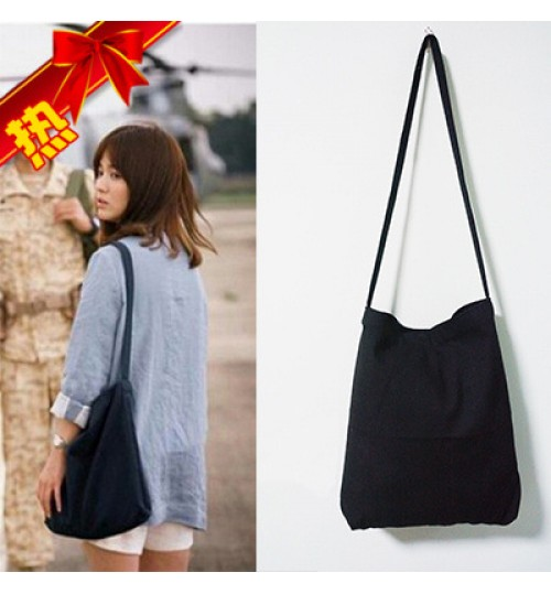 2018 New Korean Canvas Shoulder Messenger Bag Retro Handbag