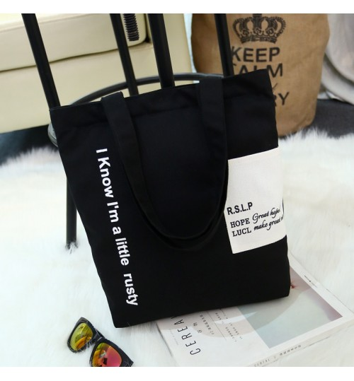 f1e8062861c5 2018 New Korean Canvas Bag Handbags Shoulder Student Tote Bag