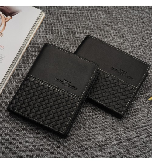 Men's short wallet business youth card ticket case