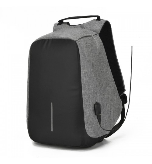 Creative USB Backpack Travel Business Men Computer Bag Schoolbag Anti-theft package