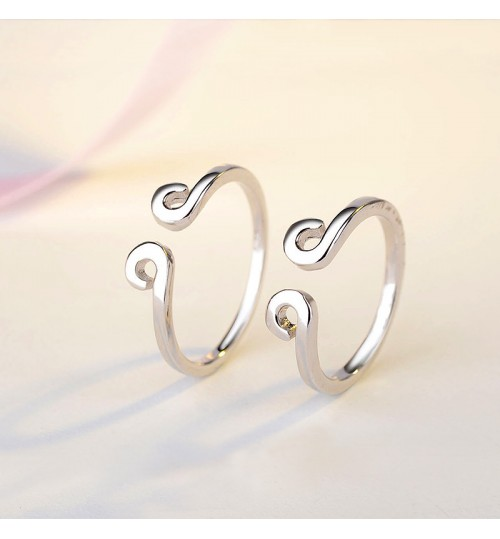 s925 sterling silver ring sun wukong magic golden head hoop fashion silver jewelry
