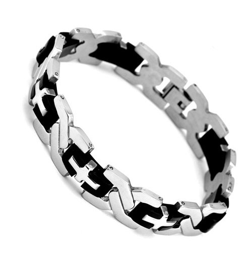 Personalized European Jewelry Fashion Stainless Steel Mens Bracelet