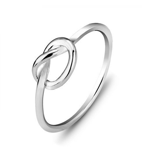 Fashion Simple Genuine 925 sliver Ring Women Ornament