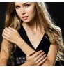 Classic Jewelry 3 in 1 Necklace Bracelet Set 925 Silver